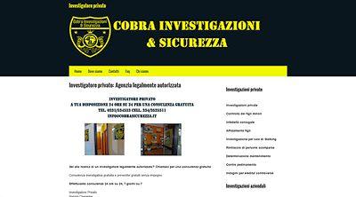 Apri la recensione del sito web: http://www.investigatoreprivato.biz