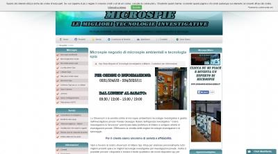 Apri la recensione del sito web: http://www.microspie-microcamere.it