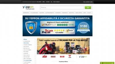 Apri la recensione del sito web: http://www.yeppon.it