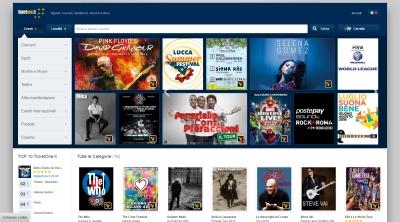 Apri la recensione del sito web: http://www.ticketone.it