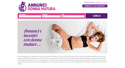Apri la recensione del sito web: http://www.annuncidonnamatura.com