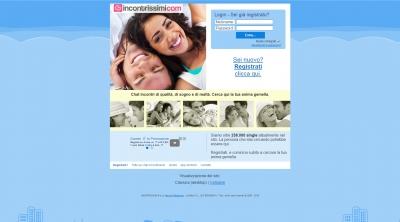 Apri la recensione del sito web: http://www.incontrissimi.com