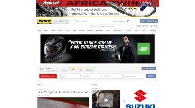 Apri la recensione del sito web: http://www.moto.it