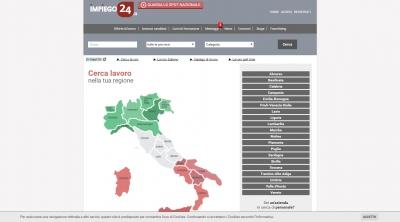 Apri la recensione del sito web: http://www.impiego24.it