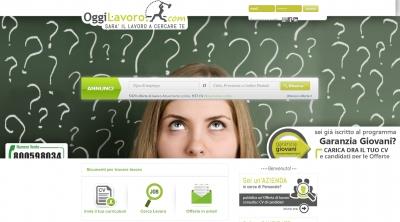 Apri la recensione del sito web: http://www.oggilavoro.com