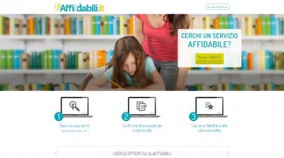 Apri la recensione del sito web: http://www.gliaffidabili.it