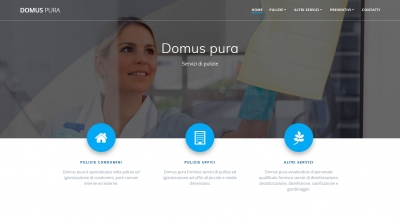 Apri la recensione del sito web: https://www.domuspura.it