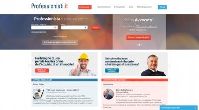 Apri la recensione del sito web: http://www.professionisti.it