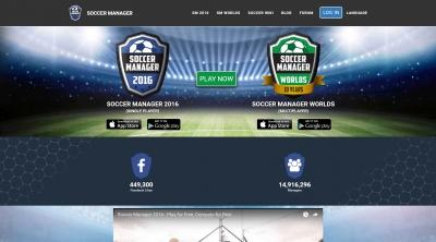 Apri la recensione del sito web: http://www.soccermanager.com