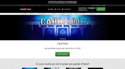 Apri la recensione del sito web: http://www.pokerstars.it