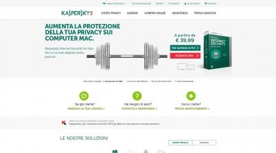 Apri la recensione del sito web: http://www.kaspersky.com/it