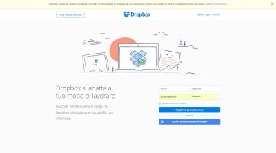 Apri la recensione del sito web: http://www.dropbox.com