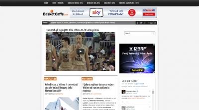 Apri la recensione del sito web: http://www.basketcaffe.com