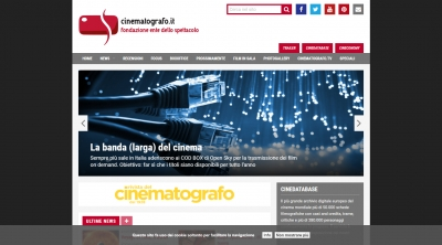 Apri la recensione del sito web: http://www.cinematografo.it