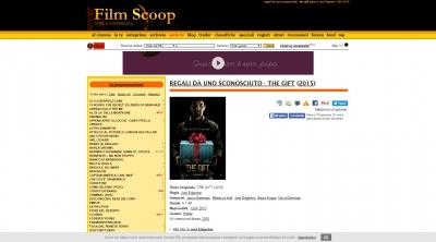 Apri la recensione del sito web: http://www.filmscoop.it