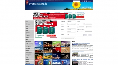 Apri la recensione del sito web: http://www.eventiesagre.it