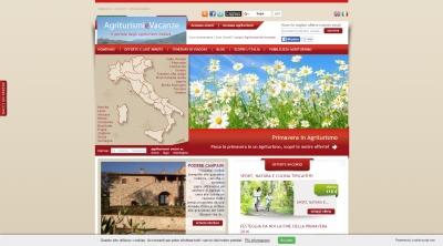 Apri la recensione del sito web: http://www.agriturismievacanze.it