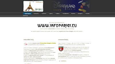 Apri la recensione del sito web: http://www.infoparigi.eu